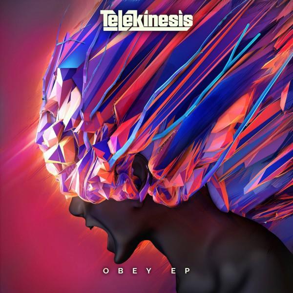 Telekinesis - Obey EP Artwork - Blackout